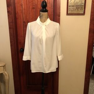 Ivory blouse by The Limited